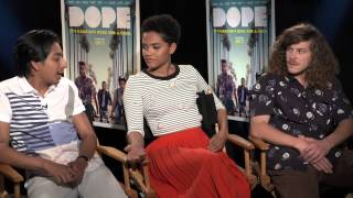"""Dope cast talk race, The N-Word, and the """"Dope"""" film itself!"""