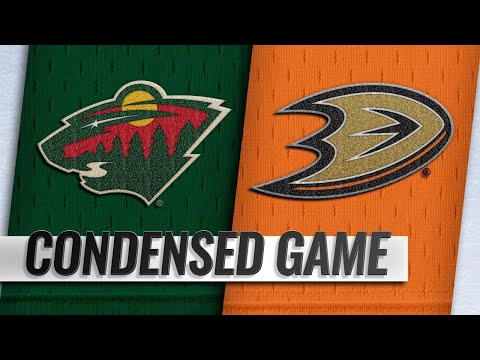 11/09/18 Condensed Game: Wild @ Ducks