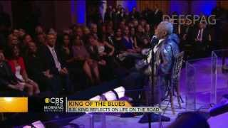 B.B. KING Reflects On Life On The Road-Interview 2013
