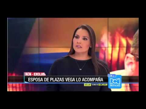 Plazas Vega visita Noticias RCN luego de quedar en libertad