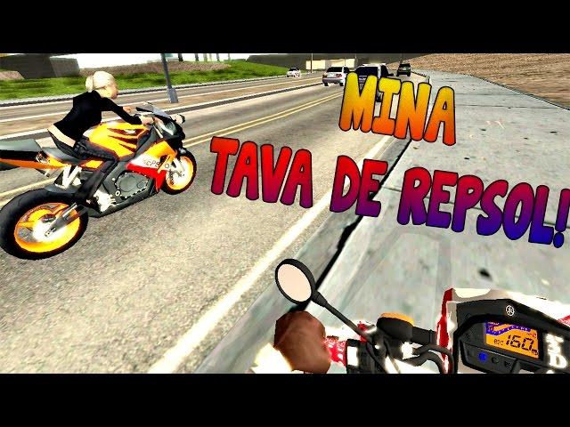 Xtz 250 | Acidente Cb300 + Mina De Repsol - Gta Sa