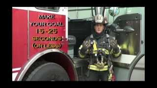 "Firefighter SCBA donning - How to improve your ""Mask Up"" times"