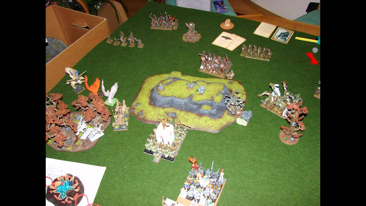 Wood elves 8th edition battle report eve