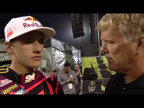 2013 Monster Energy Cup - And On The Podium Tonight - Ken Roczen