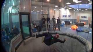 Полёты в аэродинамической трубе: Таня