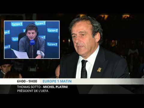 """Platini : """"je suis plus que blanc"""" dans toutes ces affaires"""
