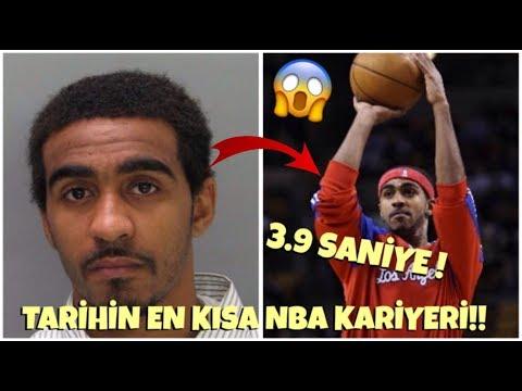TARİHİN EN KISA NBA KARİYERİ!! - 3.9 SANİYE OYNADI!! - Basketbol Hikayeleri