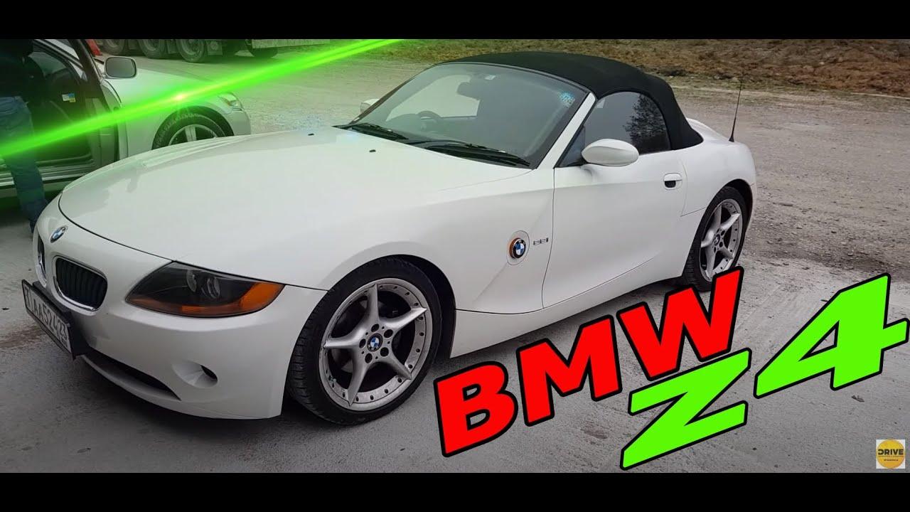 обзор BMW Z4 в Абхазии как своя !!!