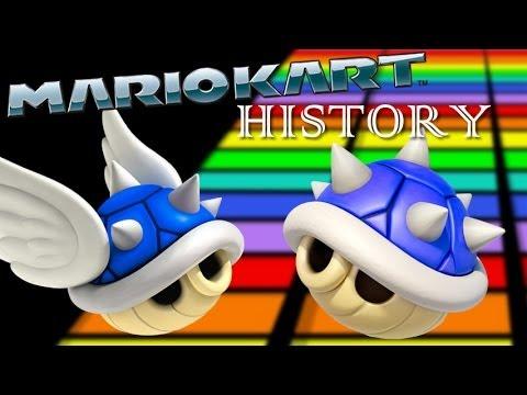 Mario Kart History Blue Shell