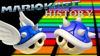 Repeat youtube video Mario Kart History - Blue Shell