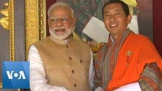 India, Bhutan Boost Space Ties During Modi Visit