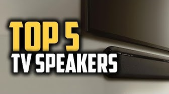 Best TV Speakers in 2019 | Get A Real Cinematic Experience In Your Home!