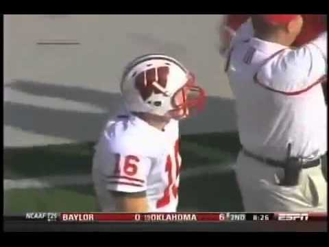 football high five fail