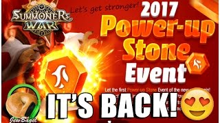 SUMMONERS WAR : Power Up Stones Are Back :D