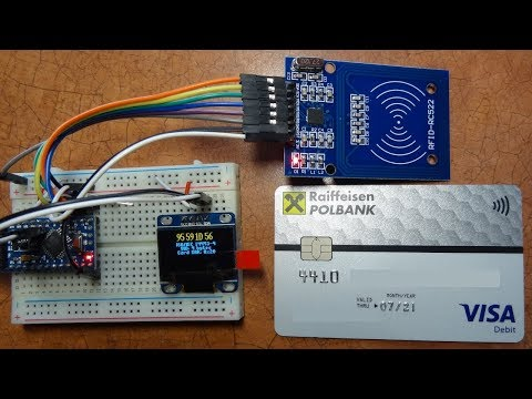 RFID / NFC Scanner With Arduino