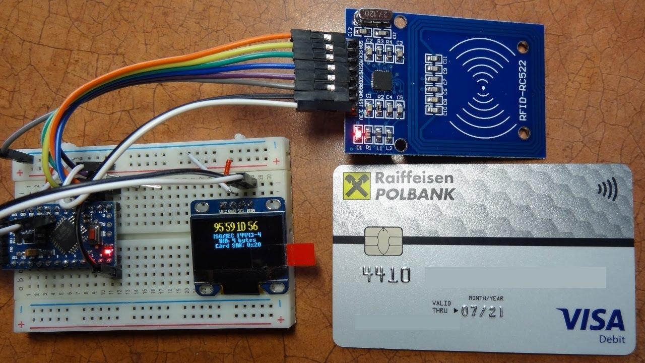 RFID / NFC Scanner with Arduino