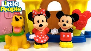 LA CASA DE MICKEY MOUSE MINNIE MOUSE Y PLUTO DE LITTLE PEOPLE MAGIC OF DISNEY - CUENTO DIVERTIDO