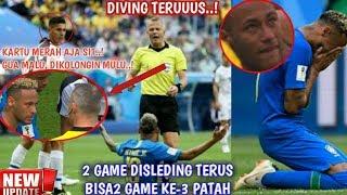 Download Video 5 Momen Neymar Brazil vs Kosta Rika Diving Menangis Dilanggar MP3 3GP MP4