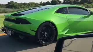 Some CRAZY fast pulls Twin Turbo Huracan!