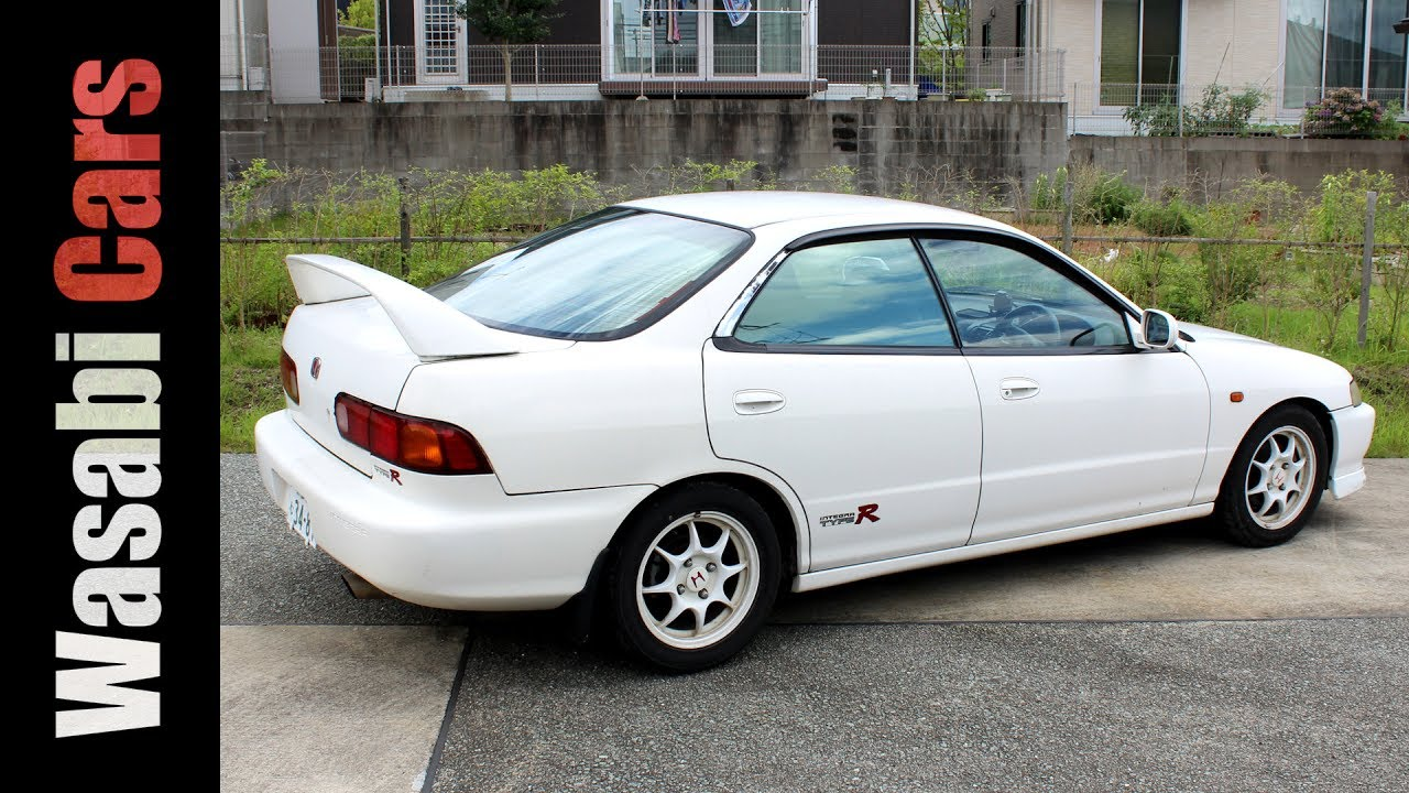 Three Of Them 1996 Honda Integra Type R 4-Door Hardtop (DB-8) & Three Of Them: 1996 Honda Integra Type R 4-Door Hardtop (DB-8 ...