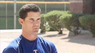 Texas Rangers Michael Young and C.J. Wilson talk baseball in Alaska