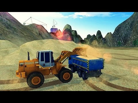 Loader & Dump Truck Hill SIM - Android Gameplay HD