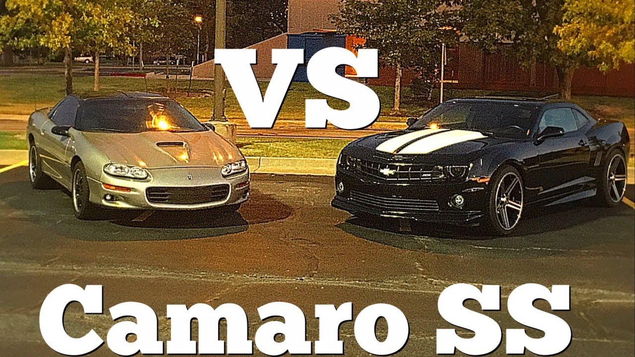 1999 Chevy Camaro SS VS 2010 Chevy Camaro SS