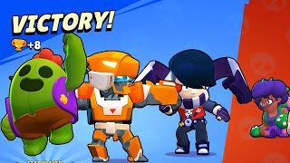 Brawl Stars - Gameplay Walkthrough Part 273 - Mecha Bo vs Surge vs King Lou (iOS, Android)