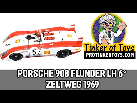 Porsche 908 Flunder LH 6° Zeltweg 1969 | C48 | Fly Car