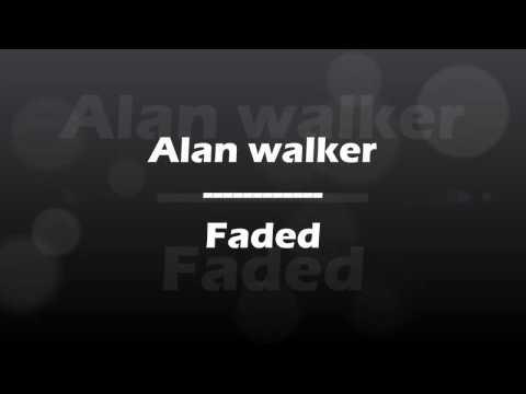 Belajar Bahasa Inggris Menggunakan Lagu Alan Walker-faded