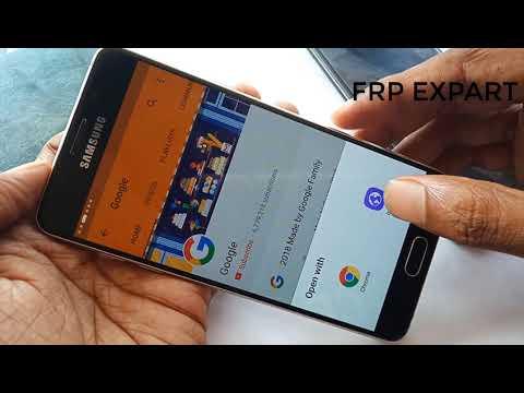 Samsung A510F Frp Bypass A510F Frp Google Lock Remove