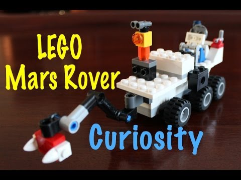Lego Moc How To Build Lego Mars Curiosity Rover Youtube