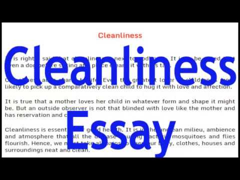 Essay on Cleanliness English Essay for Class 8,9,10 and 12.