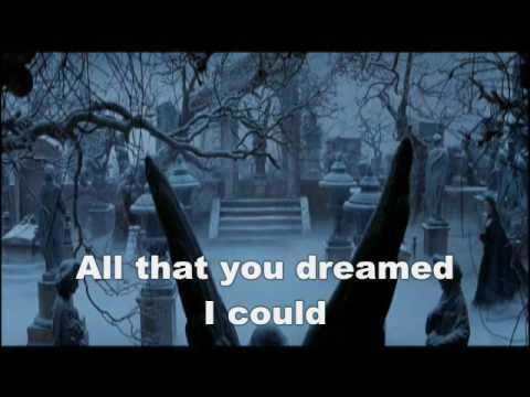 Wishing You Were Somehow here again karaoke (MOVIE VERSION)