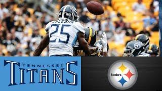 Tennessee Titans vs Pittsburgh Steelers Game Highlights. NFL Preseason Week 3