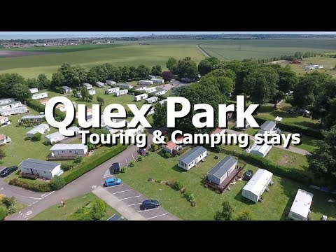 Camping & Touring In Birchington Thanet At Quex Park Holiday Park, Kent