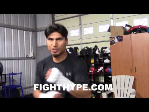 MIKEY GARCIA RECALLS SPARRING PACQUIAO IN HIS PRIME; DESCRIBES FIRST TIME HE GOT CAUGHT WITH LEFT