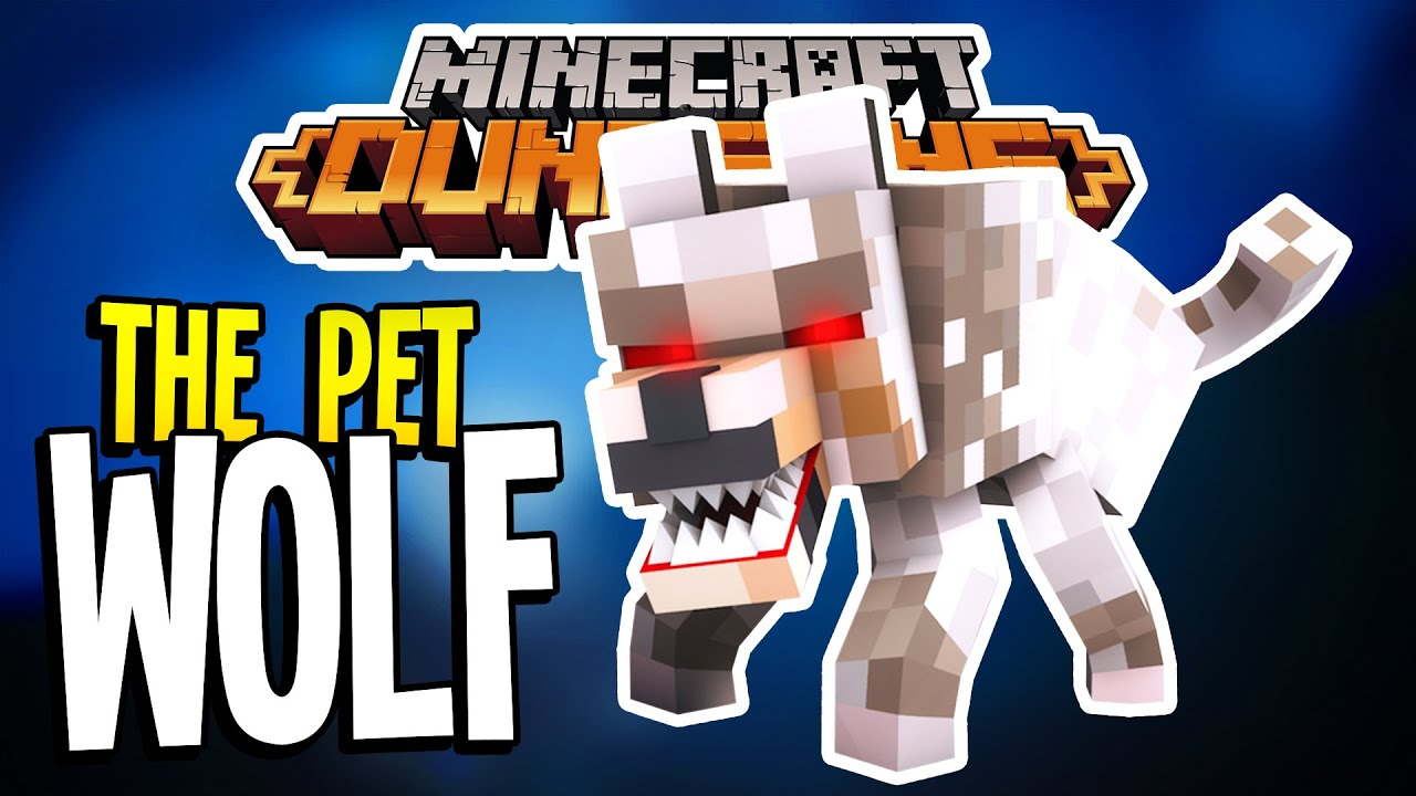 How To Get The Pet Wolf In Minecraft Dungeons Youtube
