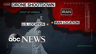 The shootdown showdown between US and Iran