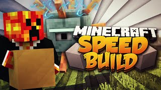 Video Minecraft SPEED BUILDER! (BUILD OR BE KILLED!) #1 w/PrestonPlayz download MP3, 3GP, MP4, WEBM, AVI, FLV Maret 2018