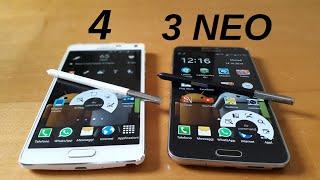 Samsung Galaxy Note 4 vs Note 3 NEO: la sfida di TheCiasti