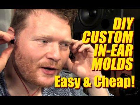 Cheap DIY Custom In-Ear Headphone Molds