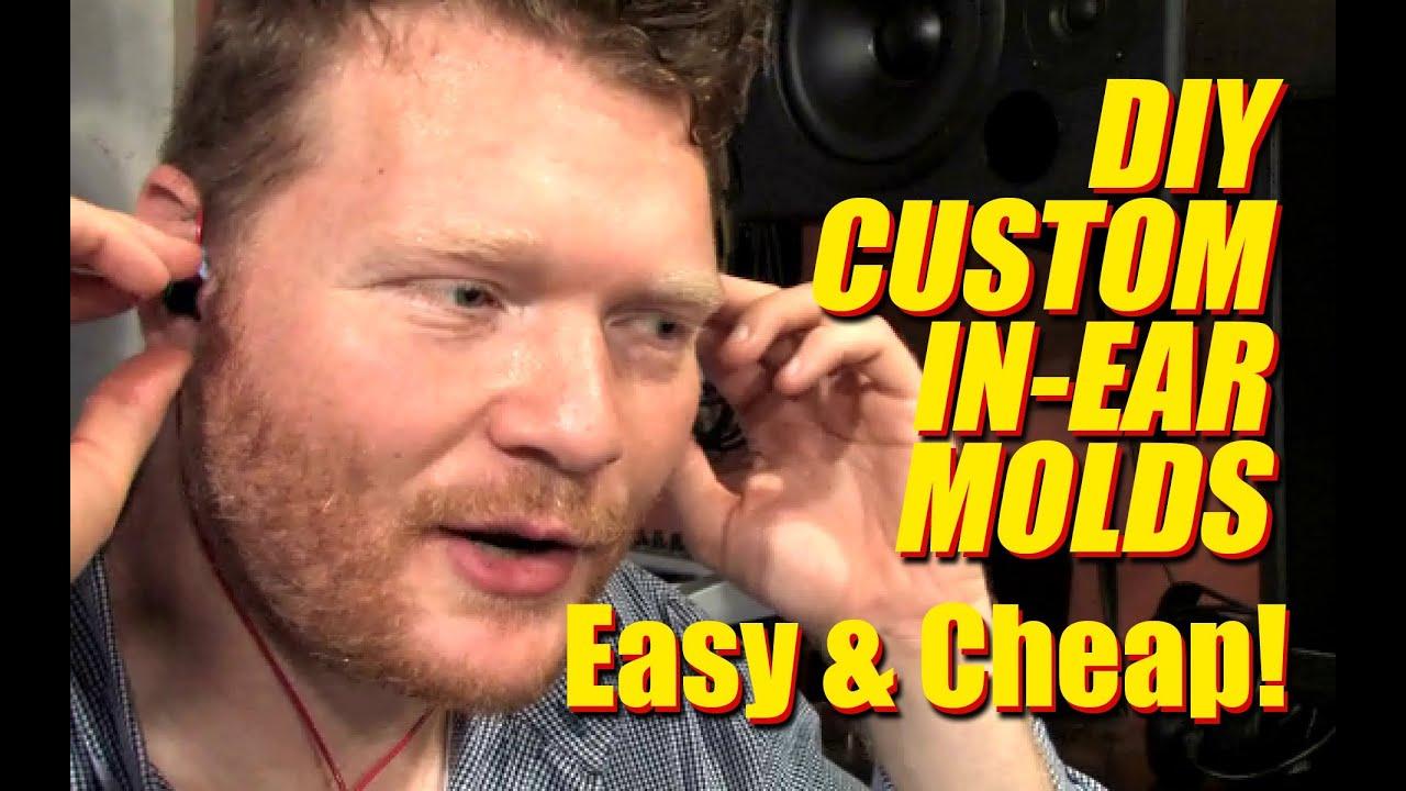 Cheap diy custom in ear headphone molds youtube solutioingenieria Gallery
