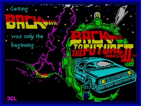 Back To The Future Part II Review for the Sinclair ZX Spectrum by John Gage