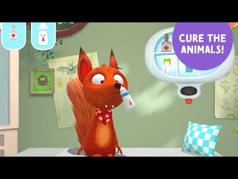 Little Fox Animal Doctor App - Walkthrough Video