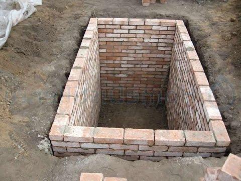 Погреб укрепление стен / Пучение стен