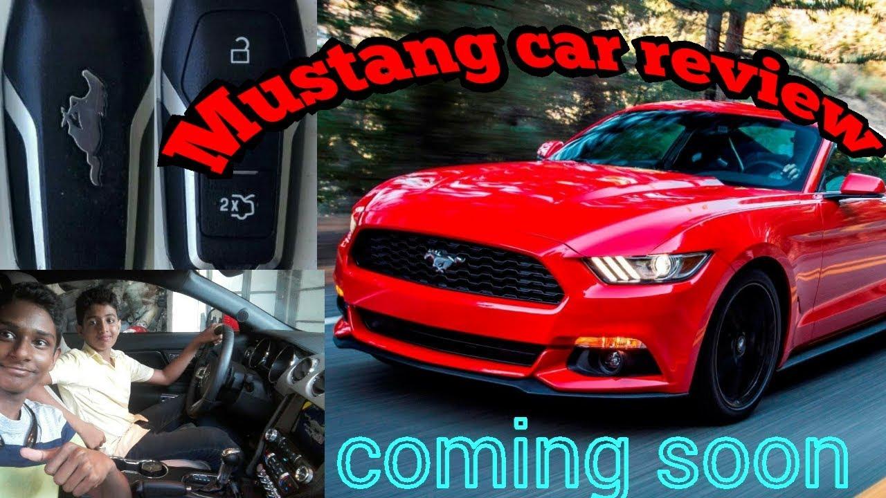 Sri lankan mustang car review video coming soon