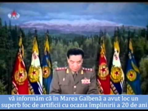 Știri și varietăți de la televiziunea nord-coreeană
