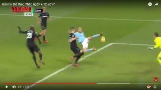 Tin Thể Thao 24h Hôm Nay (7h - 7/12): Man City Mất David Silva Trước Thềm Derby Với Man Utd