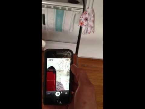 iPhone 5 cracked screen for sale. Verizon 16gb